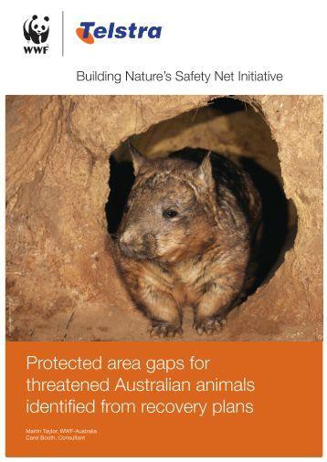 Protected area gaps for threatened Australian ... - wwf - Australia