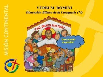 Dimensión bíblica de la catequesis