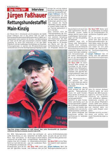 Der Neue Tipp : hundestaffel magazine ~ Lizthompson.info Haus und Dekorationen