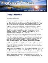 Infecção hospitalar - Reflexoes.diarias.nom.br