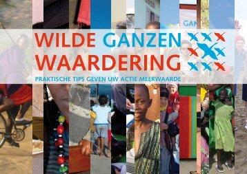 Waardering; boekje vol tips - Wilde Ganzen