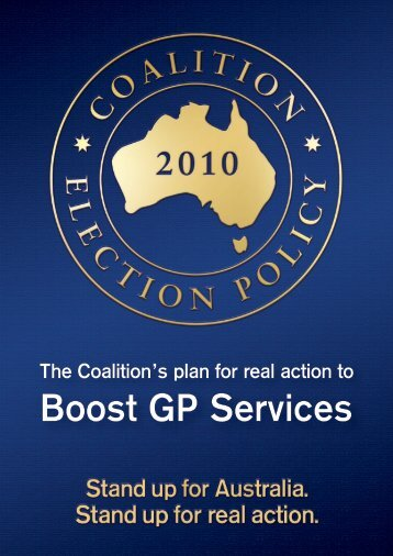 Boost GP Services - Liberal Party of Australia