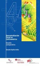 Descentralización Fiscal en Centroamérica Estudio comparativo
