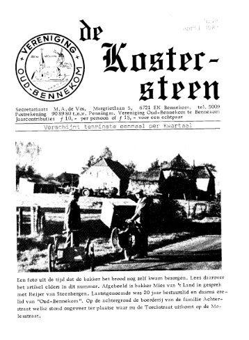 April nr 4 - Oud Bennekom