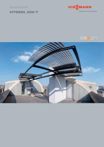 Zonnecollectoren Vitosol 200-T voor zonneboiler282 KB - Viessmann