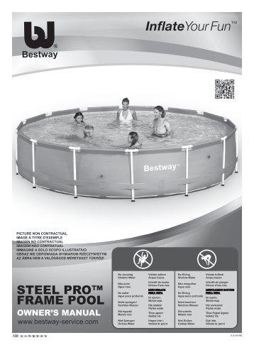 STEEL PRO™ FRAME POOL - Bestway-Service