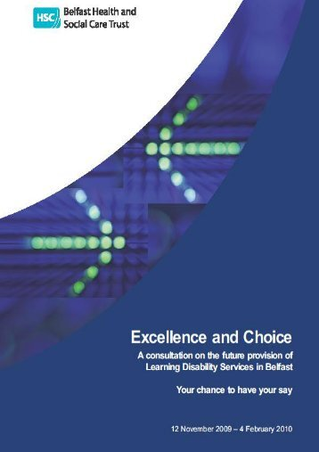 Excellence and Choice in Learning Disability Services