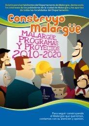 Revista Pem Ciudad - Plan Estratégico de Malargüe