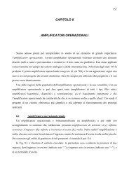 CAPITOLO 8 AMPLIFICATORI OPERAZIONALI - dieet