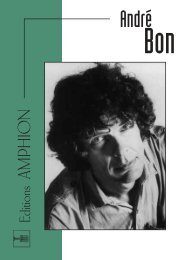 Catalogue André BON - durand-salabert-eschig