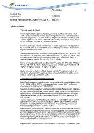 Osavuosikatsaus Q3 - Fingrid