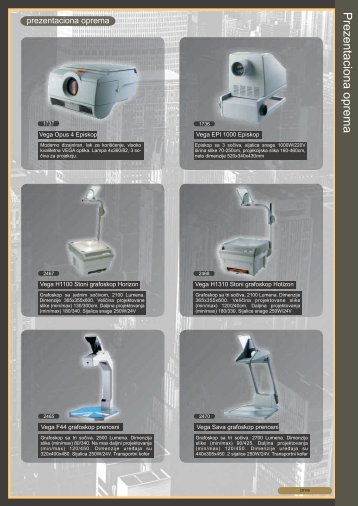 Prezentaciona oprema.pdf - TG Commerce