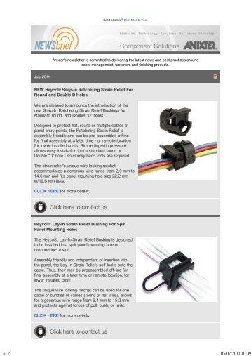 Download a PDF - Anixter Components