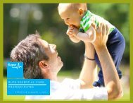 bupa essential care premium rates - ASA International Insurance