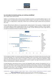 13/09/2010 Informe semanal de materias primas ... - Sala de Inversión