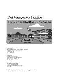 School survey rept.pgmkr.ckl - New York State Integrated Pest ...