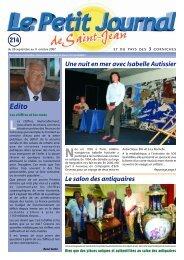 Le Petit Journal de Saint-Jean n°214 - Saint Jean Cap Ferrat