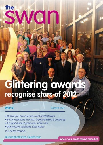 1. The Swan newsletter - Souvenir issue - Become an NHS ...
