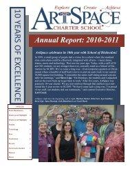 2010-2011 - ArtSpace Charter School