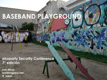 The Baseband Playground - Reverse Engineering Mac OS X
