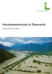 Hochwasserschutz in Österreich - Lebensministerium