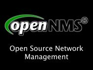 Slides OpenNMS