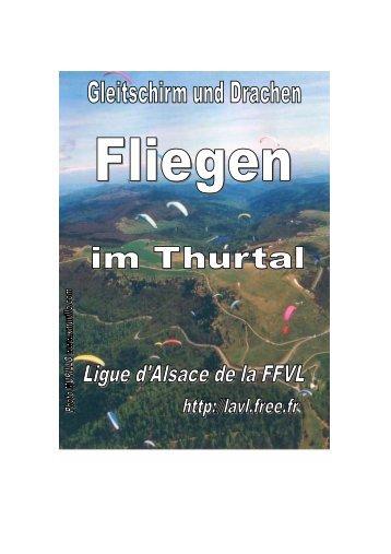 Fliegen in Thurtal - Ligue d'Alsace de vol libre