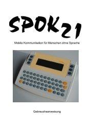 Mobile Kommunikation für Menschen ohne Sprache ... - Spok21.com