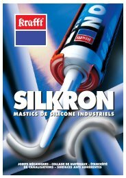 Silicones industriels Silkron - Krafft