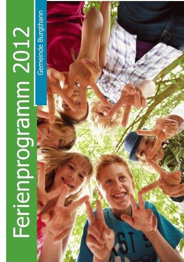 Ferienprogram m 2012 Ferienprogram m 2012 ... - Burgthann
