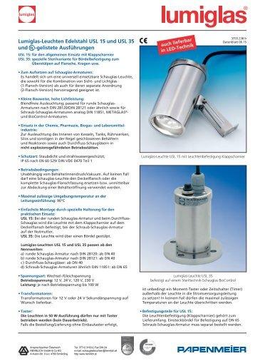 Datenblatt USL15 - HENNLICH GmbH & Co KG