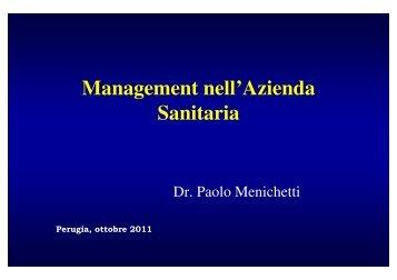 (Microsoft PowerPoint - Management nell'Azienda Sanitaria.ppt ...