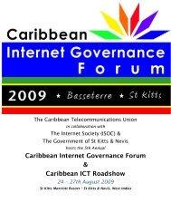 CIGF 2009 - Caribbean ICT Roadshow