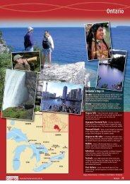 Ontario Tourism; 1. OT - Destination Canada