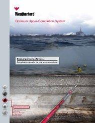 Optimum Upper-Completion System - Weatherford International