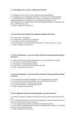 1.- La Fisiología oral es la base científica para abordar: a.- El ...