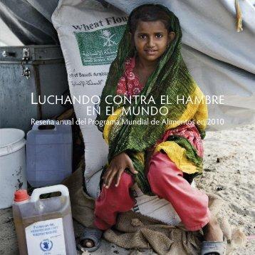 Reseña anual del Programa Mundial de Alimentos en 2010