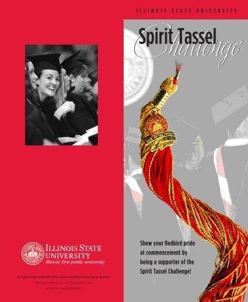 Spirit Tassel - University Advancement - Illinois State University