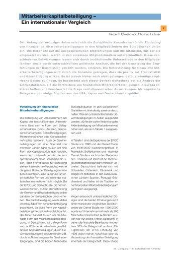 Ein internationaler Vergleich ... - ifo Institut