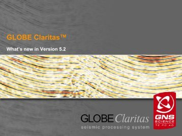 What's New in Version 5.2.pdf - Globe Claritas
