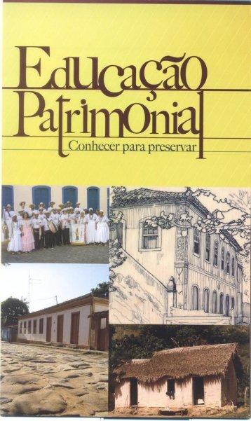 Folder Educação Patrimonial - Calendário de Atividades ... - Secult