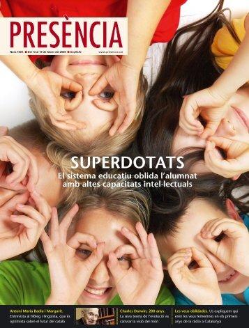 revista Presència - Generalitat de Catalunya