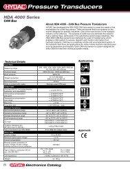 Download HDA 4000 CAN Bus - HYDAC USA