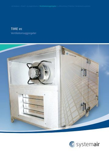 TIME ec - Systemair