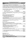 Probă scrisă la CHIMIE ANORGANICĂ I (Nivel I/ Nivel II) Examenul ... - Page 3