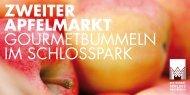 ZWEITER APFELMARKT GOURMETBUMMELN ... - Kirberg Catering