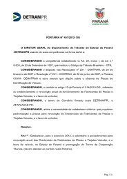 Portaria 451/2012 - Detran
