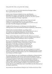 Sehr geehrte Herr Almer, sehr geehrter Herr Schlögl, am 1.12.2006 ...