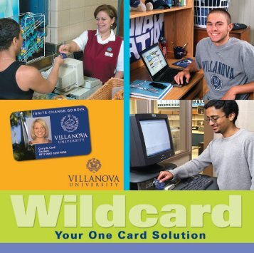 Your One Card Solution - Villanova University
