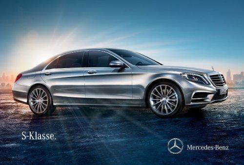 S-Klasse. - Mercedes Benz
